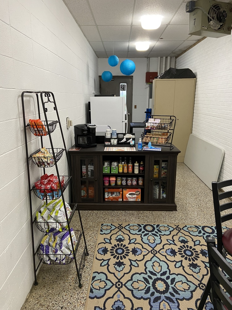 MS Teacher Appreciation Coffee Lounge