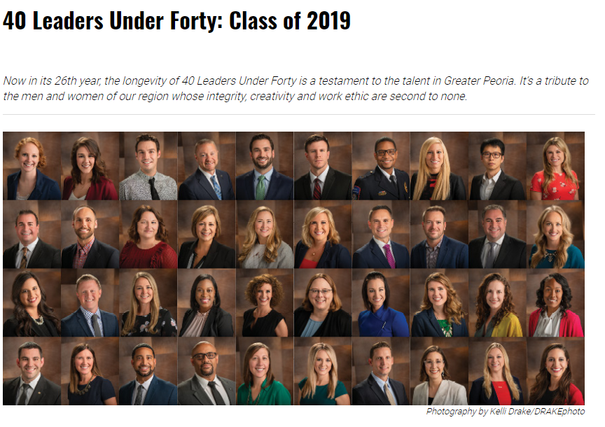 Congrats Tremont Alumni-40 Leaders Under 40
