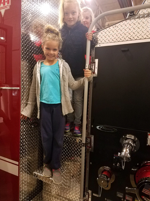 Future firefighters in the making?