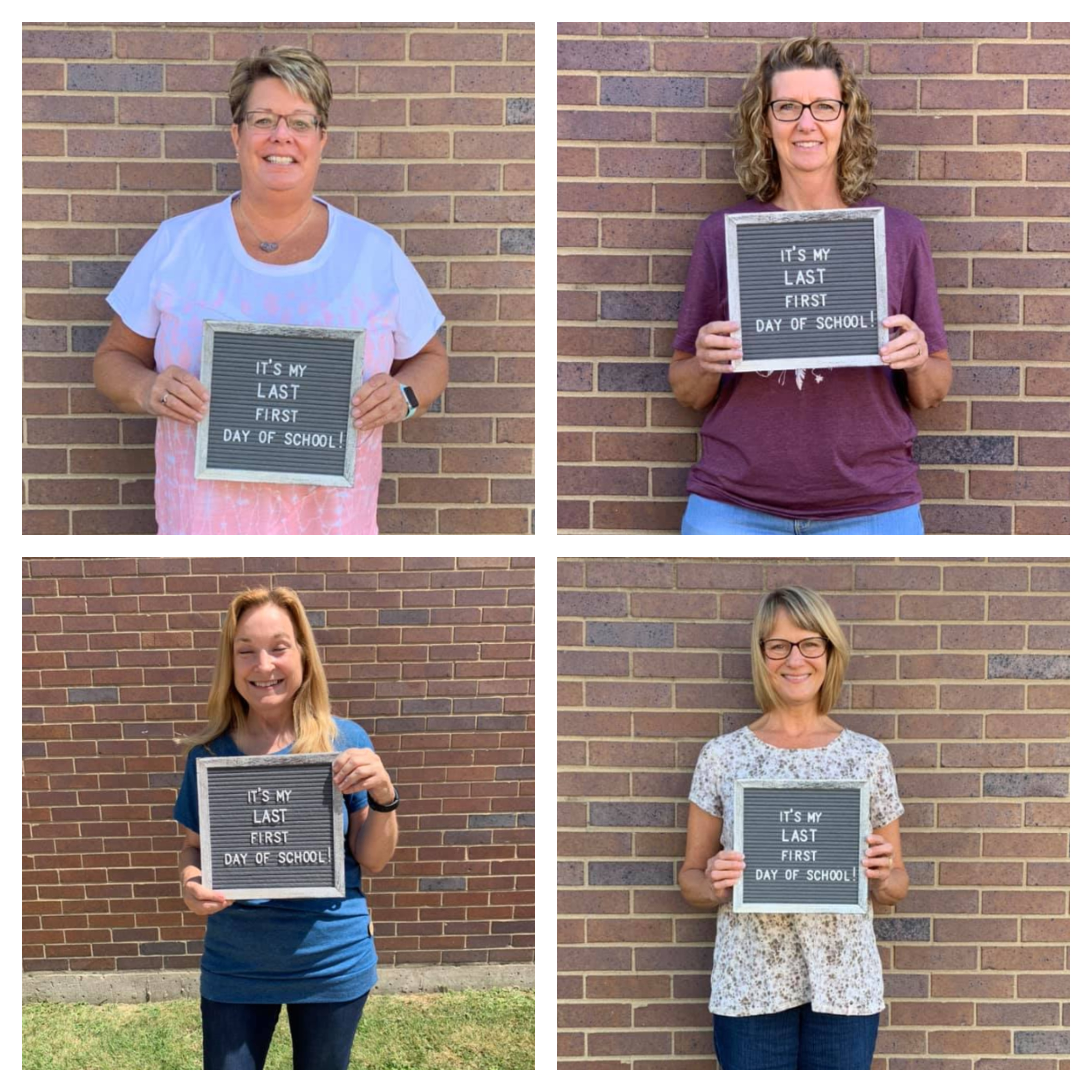 Last First Day of School for these great teachers!